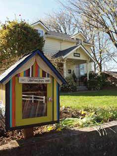 Jessica Ramey. Salem, OR. We love the idea of a Little Free Library and wanted to bring it to our city. We talked to our neighbors and everyone wanted to participate. We have such a wonderful group of neighbors: one a former school librarian one built his own house several handy folks and one is a former special ed teacher. I'm artist so I got to work coordinating the neighbors to create artwork on shrinky dinks and then incorporated the community artwork onto the Little Free Library.