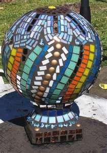 beautiful mosaic orb