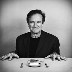 Robin Williams photographed by Nicolas Guerin