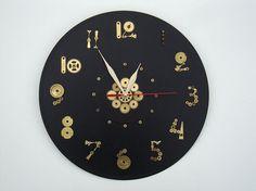 Wall Clock Steampunk O'clock steampunk wall clock by OlgaArtShop