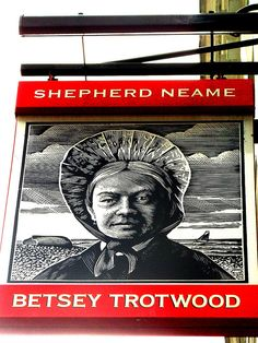Betsey Trotwood sign. | by Draopsnai