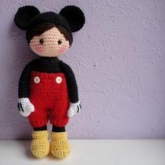 Ravelry: Nene Mouse.Crochet doll pattern. pattern by Rosana González