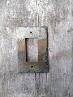 Slate Switch Plate Decora Rocker GFCI GFI by VermontSlateArt