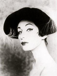 Model Norka photographed by her husband Alberto Korda, 1959.