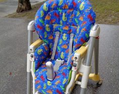 Peg perego high chair replacement cover in cotton fabric Peg Perego, Highchair Cover, Baby Feeding, Baby Car Seats, Cotton Fabric, The Originals, Children, Creative, Handmade