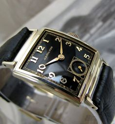 Hamilton Vintage Watch.If you're looking for a vintage watch for less than $500 that will instantly boost your image then check this out: http://www.alphareboot.com/8-vintage-watches-under-500-instantly-boost-image/