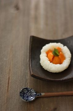 Japanese sea urchin with rice