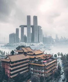 Old and New architecture, Chongqing & Photography Urban Photography, Street Photography, Travel Photography, Chinese Architecture, Beautiful Architecture, Building Architecture, Architecture Design, Chongqing China, Building Drawing