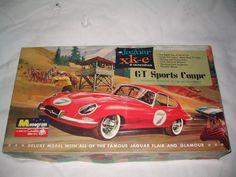 Monogram 1/8 Scale Jaguar XK-E GT Sports Coupe Giant Plastic Model NO. PC98-1098 #Monogram Jaguar Xk, Jaguar E Type, Hobby Kits, Plastic Models, Diecast, Scale, Hobbies, Monogram, Toys