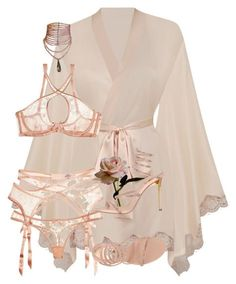 A fashion look from September 2017 featuring agent provocateur lingerie, pink heeled shoes and choker jewellery. Browse and shop related looks. Lingerie Outfits, Pretty Lingerie, Beautiful Lingerie, Lingerie Sleepwear, Lingerie Set, Sexy Outfits, Cute Outfits, Fashion Outfits, Womens Fashion