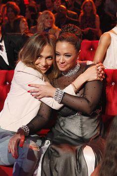 Jennifer Lopez & Leah Remini - Dancing with the Stars (Week 1)