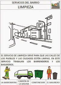"""Os dejamos aquí una serie de fichas para trabajar los Servicios del Barrio. las hemos elaborado en nuestro proyecto """"El Barrio de mi Cole"""",..."""