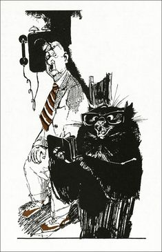 Мастер и Маргарита. llustrator Г. Новожилов.