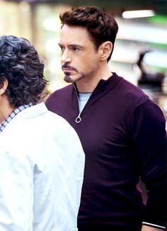 "Robert Downey Jr. as Tony Stark, ""Avengers: Age of Ultron"""