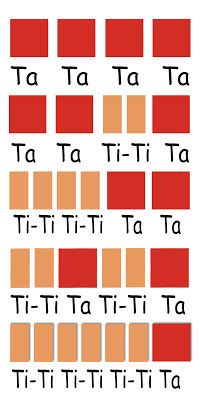 /* we had ta-fah-tiffy-tah-tah etc. odd given what tahtahs can mean. */ Music Lessons for the Young Child: RHYTHM LESSON 8 - Reading Notation Elementary Music Lessons, Music Lessons For Kids, Music Lesson Plans, Music For Kids, Piano Lessons, Elementary Schools, Preschool Music Lessons, Kindergarten Music, Music Worksheets