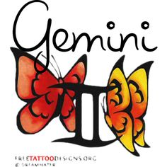 Gemini...Without the butterflies