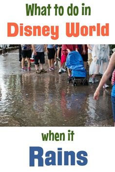What rides close at Disney World when it rains? What are the best shoes for rain at Disney World? Does Disney World cancel fireworks due to rain or thunder? Learn everything you need to know about surviving the rainy season at Disney. Disney On A Budget, Disney World Vacation Planning, Disney World Florida, Walt Disney World Vacations, Disney Trips, Disney Travel, Trip Planning, Disney Planning, Family Vacations