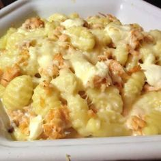 Cookeo Salmon Gnocchi - Easy recipe for your dish. - cookeo salmon gnocchi, an easy dish to make at home with the cookeo test it with our recipe, good a - Easy Chicken Recipes, Easy Healthy Recipes, Easy Dinner Recipes, Crockpot Recipes, Easy Meals, Ceviche, Junk Food, Cooking Pork Roast, Cooking Bacon