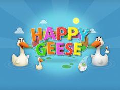 Happy Geese, diversión para niños con autismo #diamundialautismo
