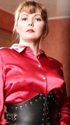 Silk Blouses, Golden Girls, Silk Satin, Mistress, Leather Jacket, Nice, Lady, Google, Jackets
