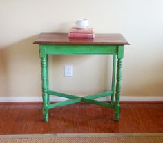Antibe green, chalkpaint, Annie Sloan - June   2011   savinggracecreations
