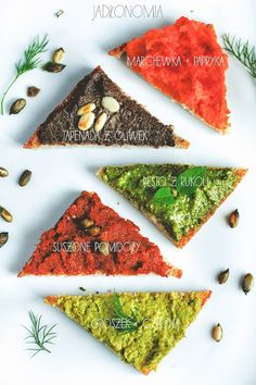 Pasty do pieczywa Veg Recipes, Vegetarian Recipes, Healthy Recipes, Party Food And Drinks, Party Snacks, Vegan Pasta, Pesto Pasta, Appetisers, Healthy Cooking