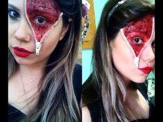 Assista esta dica sobre Maquiagem Halloween: Ziper Aberto e muitas outras dicas de maquiagem no nosso vlog Dicas de Maquiagem.