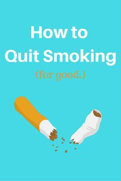 Trying to quit smoking? It's never easy, but these helpful guides can help you quit smoking for good. Learn more here!