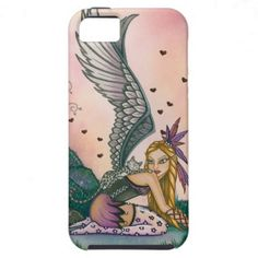 A Bengal Cat and his Fairy Friend iPhone 5 Cases