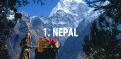 finally Nepal Has become a Number one destination 2016 : rough guide. Lets visit nepal