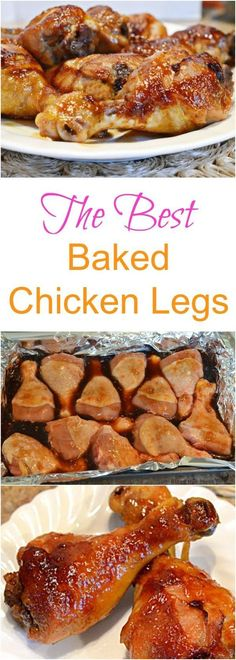 The best chicken leg recipe ever (baked or slow cooker! However, they tasted like they were missing something. When I figure it out, I will edit~Nikki) UPDATE: Hot sauce or Worcester (Baked Chicken Meals) Crock Pot Recipes, Cooking Recipes, Sauce Recipes, Crock Pots, Beef Recipes, Gourmet Burger, 5 Ingredient Recipes, Food Dishes, Main Dishes