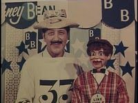 """Some years ago in the 1960′s Barney Bean (David William Harris) was a local Youngstown, Ohio television personality. He hosted a """"Live"""" children's program where he played cartoons, interviewed children on set, had guest clowns, and did short fun sketches. Beans big draw was to use the initials of a child's name and draw a picture using them. He was quite the artist. Click the photo for the full story including a """"Live"""" incident on local television."""