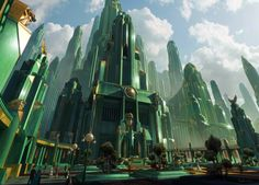 Oz the Great and Powerful (2013) Production Design by Robert Stromberg - Concept Art by Dylan Cole