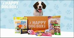 Happy Dog Box - 50% Off + Free Shipping!  For those who spoil their Furbaby family members!