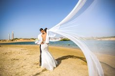 On The Beach Wedding by chess_prod