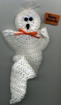 Ghost Fridgie Tutorial ༺✿ƬⱤღ  http://www.pinterest.com/teretegui/✿༻