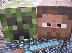 We Heart Parties: Party Ideas, Party Themes, Birthday Ideas, Baby Showers 12 Simple Minecraft Party Ideas