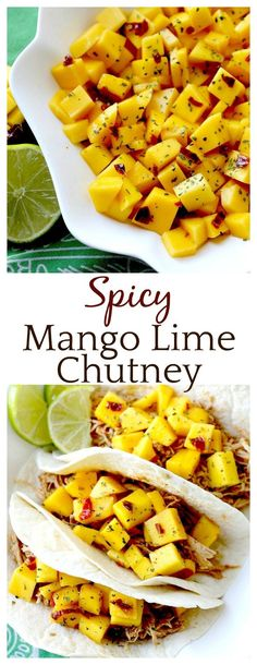 This mango chutney recipe is addicting!! I was eating it straight out of the bowl! Perfect on top of all types of meat but also great as a side dish! Leave out the pepper for a mild version that kids love!!