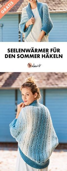 Crochet Soulwarmers for Spring and Summer – Free Crochet Pattern via Mak … - Kids Fashion Spring Fashion, Kids Fashion, Free Crochet, Crochet Hats, Knitting Patterns, Crochet Patterns, Diy And Crafts, Stitch, Clothes For Women