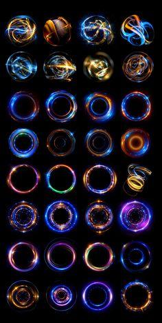 Experiments with optical flares on Behance Optical Flares, Magic Symbols, Weapon Concept Art, Digital Art Tutorial, Magic Circle, Magic Art, Grafik Design, Motion Design, Game Design