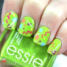 42 Fotos de uñas color verde - Green Nails - http://xn--decorandouas-jhb.com/42-fotos-de-unas-color-verde/