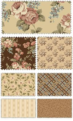 Penelope by Erin Turner for Penny Rose Fabrics...beautiful set of fabfics for a quilt