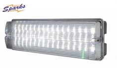 Emergency LED light for outdoors, ELLED3H IP65 6W Maintained LED bulkhead