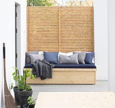 Daybed outdoor selber bauen  Hängebett selber bauen: 44 DIY Ideen für Bett aus Paletten im ...