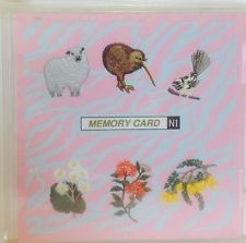 Janome Memory card, New Zealand Series, 13 designs (SEW format)