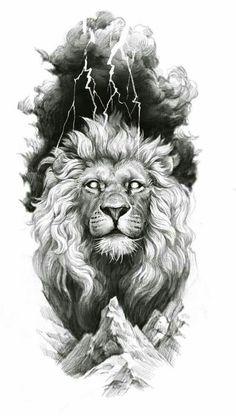 Lion Chest Tattoo, Lion Head Tattoos, Mens Lion Tattoo, Leo Tattoos, Tiger Tattoo, Animal Tattoos, Lion Back Tattoo, Lion Tattoo Design, Lion Design