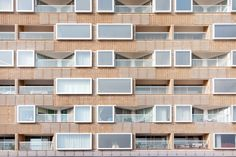 Completed in 2016 in Salmiya, Kuwait. Images by Sylvette Blaimont. Of resemblance to the social housing typology, Pearl-Marzouq complex, 'Lou'lou'at Al-Marzouq', embodied the complete opposite; a private housing for...