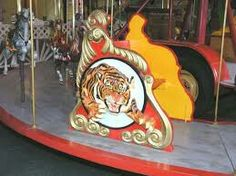 Barnum and Bailey's tiger Carousel chariot