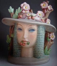 'Springtime' 1935, ceramic by Mario Sturani, Lenci, Turin, Italy.