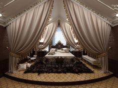 Queen Mother Eleanor's Bedroom Luxury Bedroom Design, Luxury Interior, Home Interior Design, Dream Rooms, Dream Bedroom, Home Decor Bedroom, Fantasy Bedroom, Bedroom Ideas, Awesome Bedrooms